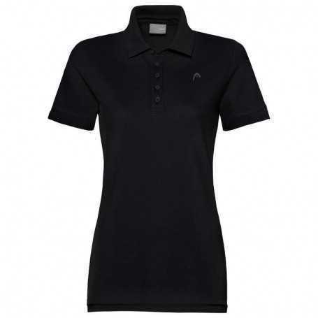 Head Club Polo Shirt Damen schwarz