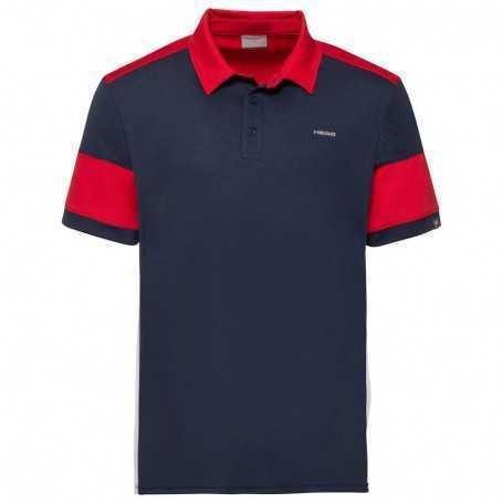 Head Vision Ace Polo Shirt Herren dunkelblau-rot