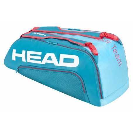 Head Tour Team X9 Supercombi Tennistasche blau-pink