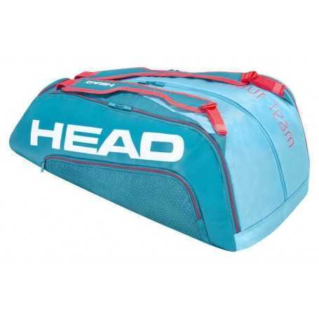 Head Tour Team X12 Monstercombi Tennistasche blau-pink