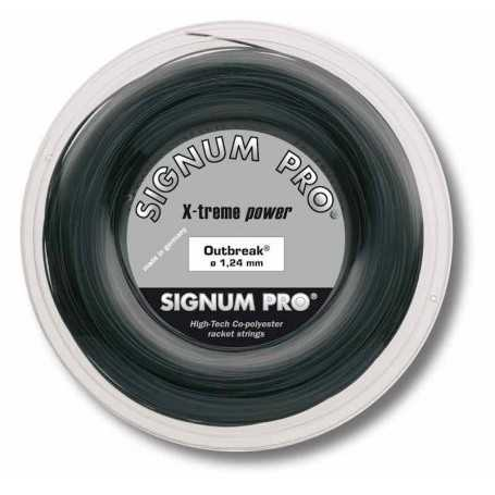 Signum Pro Outbreak Rolle 200m 1,24mm anthrazit