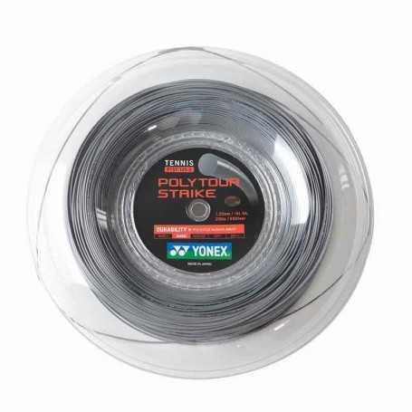 Yonex Poly Tour Strike Rolle 200m 1,25mm grau