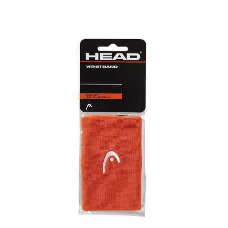 Head Schweissband mit Logo lang 2er orange