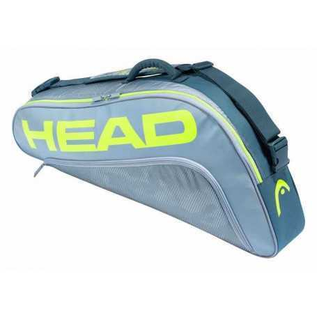 Head Tour Team Extreme 3R Pro Tennistasche grau-neongelb