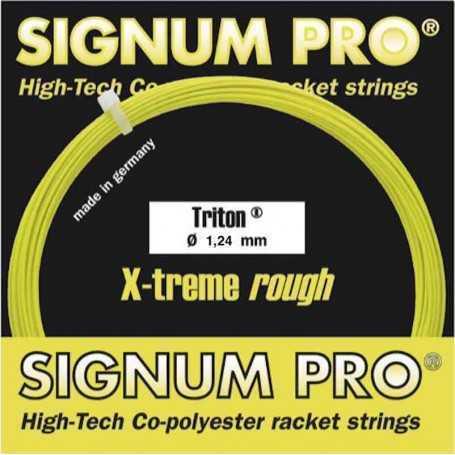 Signum Pro Triton Set 12,00m 1,24mm gelb Besaitungsset