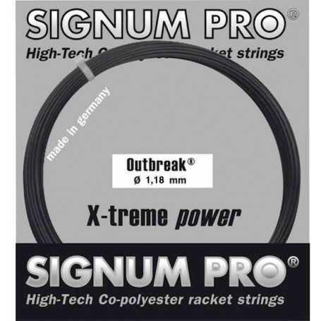 Signum Pro Outbreak Set 12,00m 1,18mm anthrazit Besaitungsset