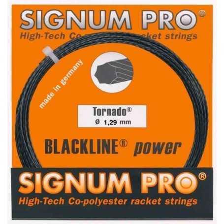 Signum Pro Tornado Set 12,00m 1,29mm schwarz Besaitungsset