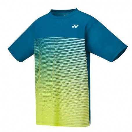 Yonex Herren Crew Neck T-Shirt blau-gelb