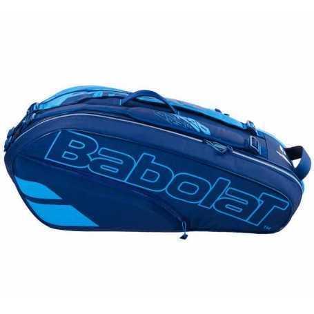 Babolat Pure Drive X6 Tennistasche 2021 blau-dunkelblau