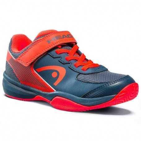 Head Sprint Velcro 3.0 Allcourt Kids Tennisschuhe navy-rot