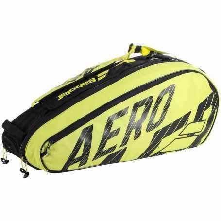 Babolat Pure Aero X6 Tennistasche 2021 schwarz-gelb