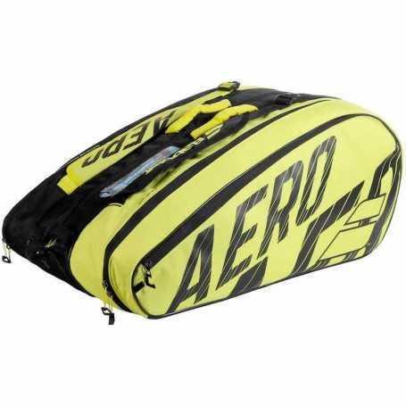 Babolat Pure Aero X12 Tennistasche 2021 schwarz-gelb