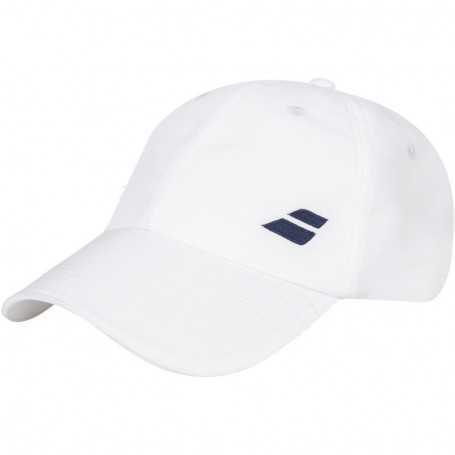 Babolat Cap Basic Logo weiss