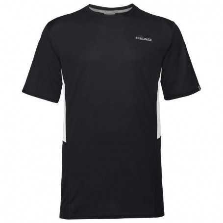 Head Club Tech T-Shirt Boys schwarz