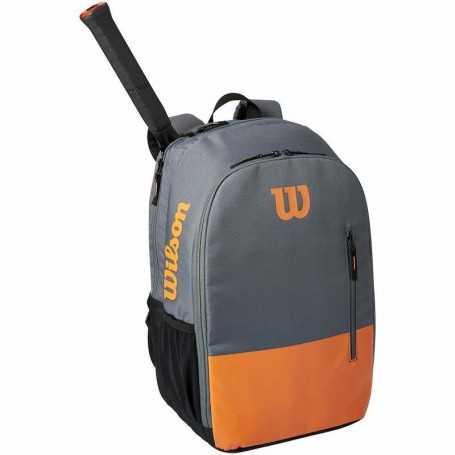 Wilson Team Rucksack grau-orange
