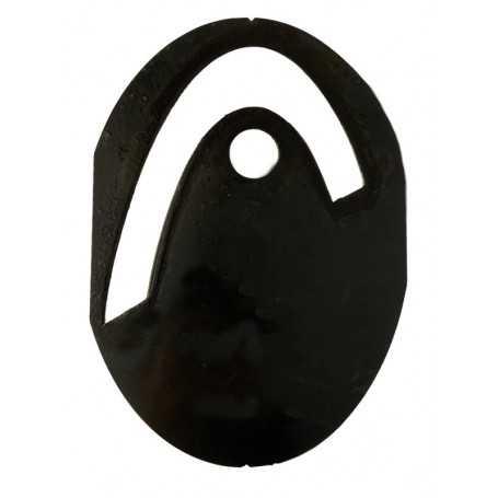 Head Schläger Logoschablone