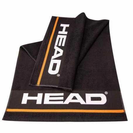 Head Handtuch L schwarz