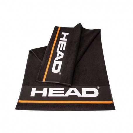 Head Handtuch S schwarz