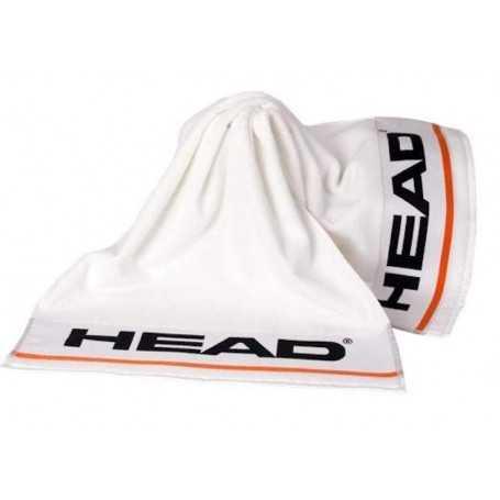 Head Handtuch S weiss