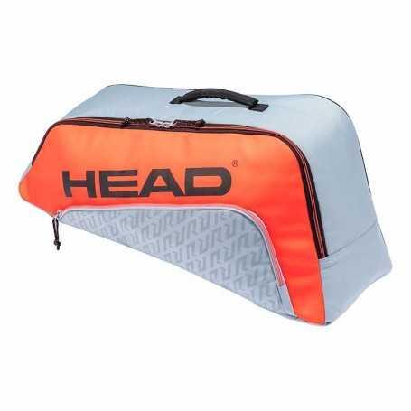 Head Junior Combi Rebel Tennistasche 2021 grau-orange