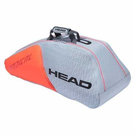 Head Radical 9R Supercombi Tennistasche 2021 grau-orange