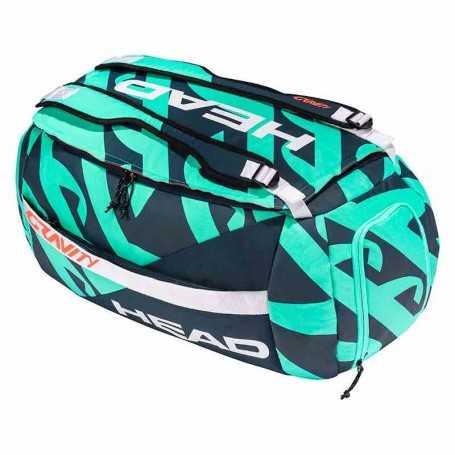 Head Gravity R-PET Sport Bag Ltd. Tennistasche 2021 türkis-navy
