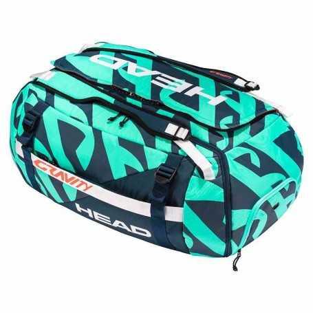 Head Gravity R-PET Duffle Bag Ltd. Tennistasche 2021 türkis-navy