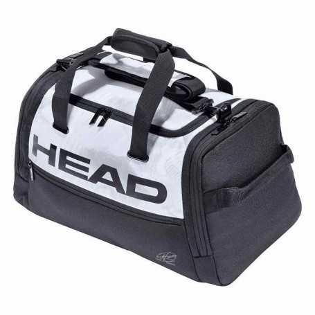 Head Djokovic Duffle Bag Tennistasche 2021 weiss-schwarz