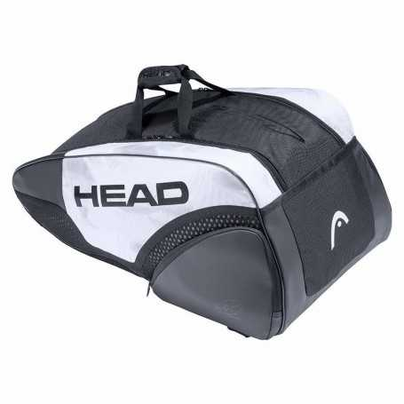 Head Djokovic 9R Supercombi Tennistasche 2021 weiss-schwarz