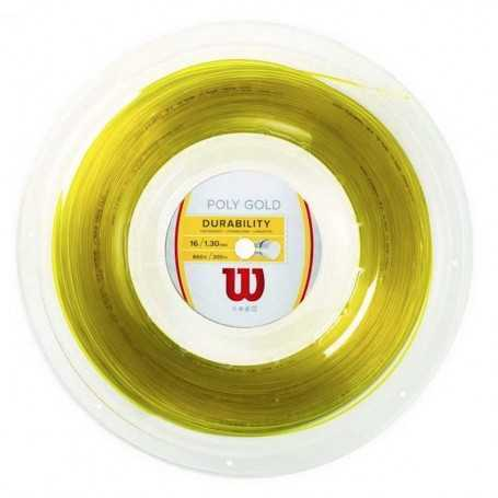 Wilson Poly Rolle 200m 1,30mm gold