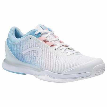Head Sprint Pro 3.0 Claycourt Damen Tennisschuhe 2021 weiss-hellblau