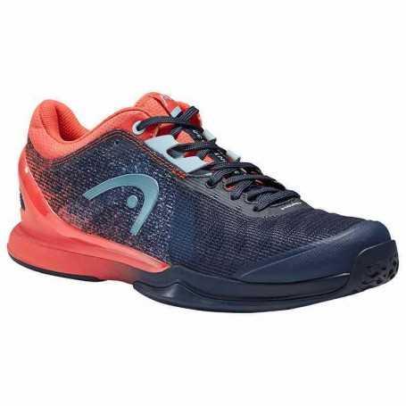 Head Sprint Pro 3.0 Allcourt Damen Tennisschuhe 2021 dunkelblau-coral