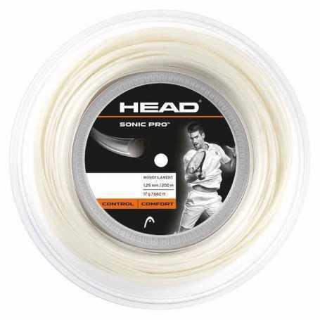 Head Sonic Pro Rolle 200m 1,30mm weiss