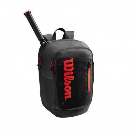 Wilson Tour Rucksack 2021 schwarz-rot