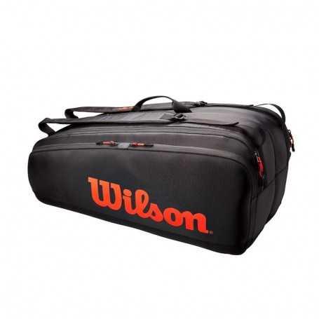 Wilson Tour 12PK Tennistasche 2021 schwarz-rot