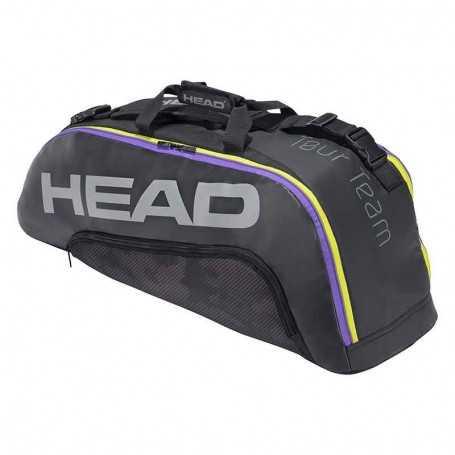 Head Tour Team 6R Combi Tennistasche 2021 schwarz-grau