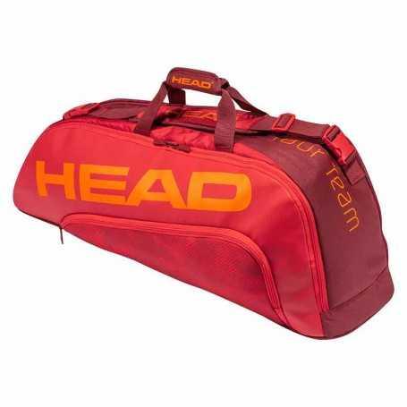Head Tour Team 6R Combi Tennistasche 2021 rot-dunkelrot