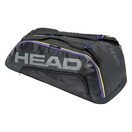 Head Tour Team 9R Supercombi Tennistasche 2021 schwarz-grau
