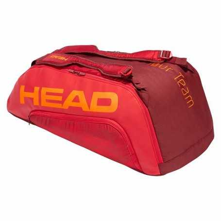 Head Tour Team 9R Supercombi Tennistasche 2021 rot-dunkelrot