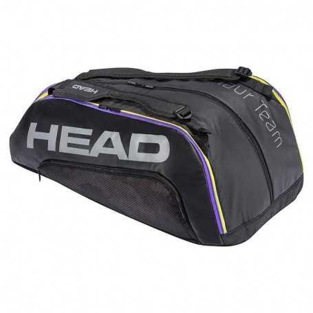 Head Tour Team 12R Monstercombi Tennistasche 2021 schwarz-grau