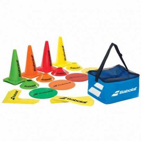 Babolat Mini Tennis Kit 12 Lines / 4 Corners / 8 Targets / 8 Cones / 8 Small Cones