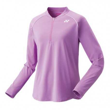 Yonex Damen Langarm T-Shirt lavender