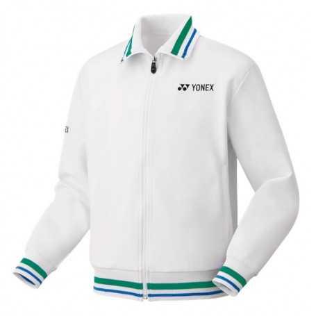 Yonex Herren 75th Jacke weiss-blau-grün