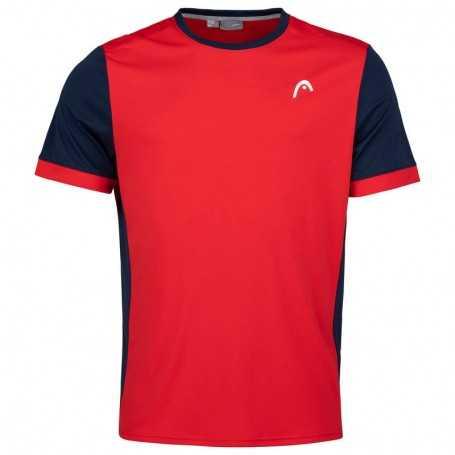 Head Vision Davies T-Shirt Boys rot-dunkelblau