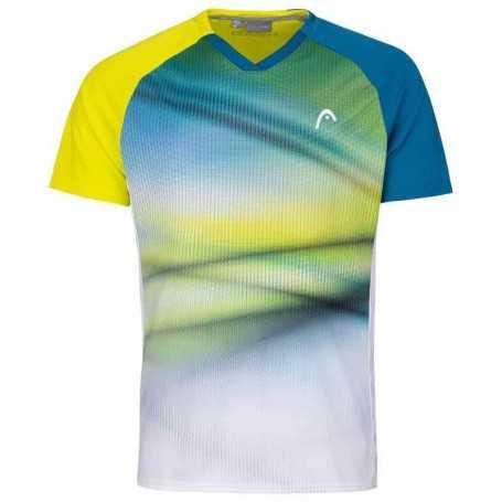 Head Vision Striker T-Shirt Boys gelb
