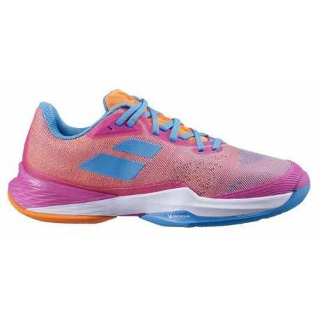 Babolat Jet Mach 3 Claycourt Damen Tennisschuhe 2021 hot-pink