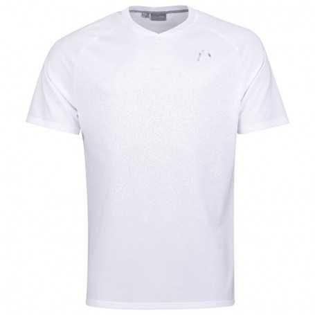 Head Herren Performance T-Shirt weiss