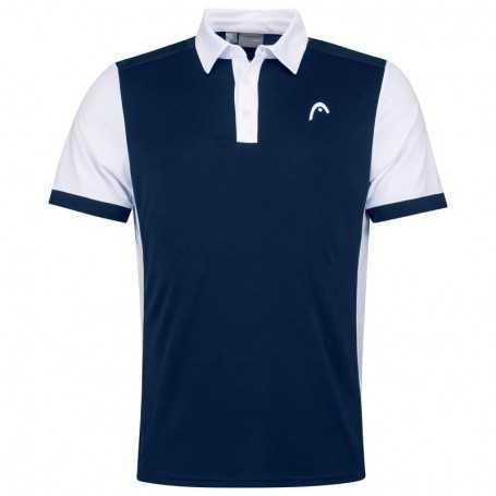Head Vision Davies Polo Shirt Herren dunkelblau-weiss