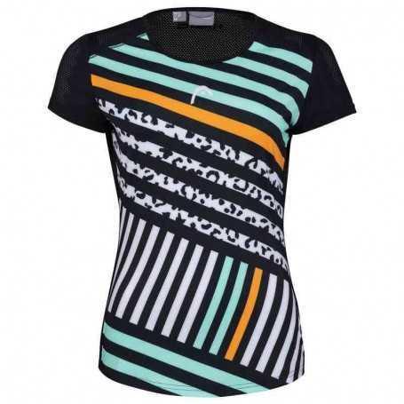 Head Vision Sammy T-Shirt Damen schwarz-print