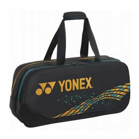 Yonex Sporttasche schwarz-camelgold